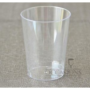 10 Oz. Clear Disposable Plastic Tumbler