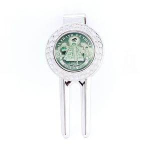 Divot Tool with Removable Ball Marker