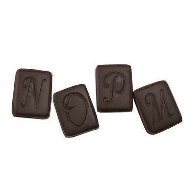 Initial Rectangle Letter B Stock Chocolate Shape