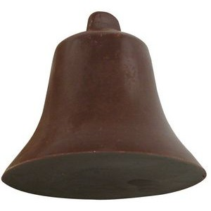 3.68 Oz. Large Chocolate Bell 3D