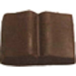 1.04 Oz. Large Chocolate Open Book