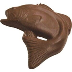 10.88 Oz. X Large Chocolate Jumping Fish