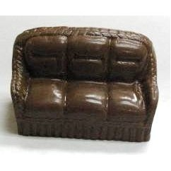 7.04 Oz. Chocolate Couch 3D
