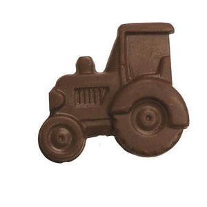0.88 Oz. Chocolate Tractor On A Stick
