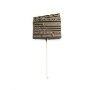 1.44 Oz. Chocolate Clapboard On A Stick