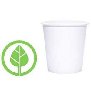 4 Oz. BLANK Eco-Friendly PLA Paper Hot Cup