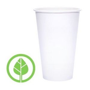 16 Oz. BLANK Eco-Friendly PLA Paper Hot Cup