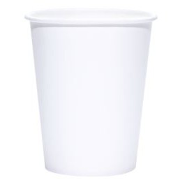 8 Oz. BLANK Eco-Friendly PLA Paper Hot Cup