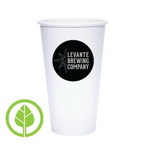 20 Oz. Eco-Friendly PLA Paper Hot Cup